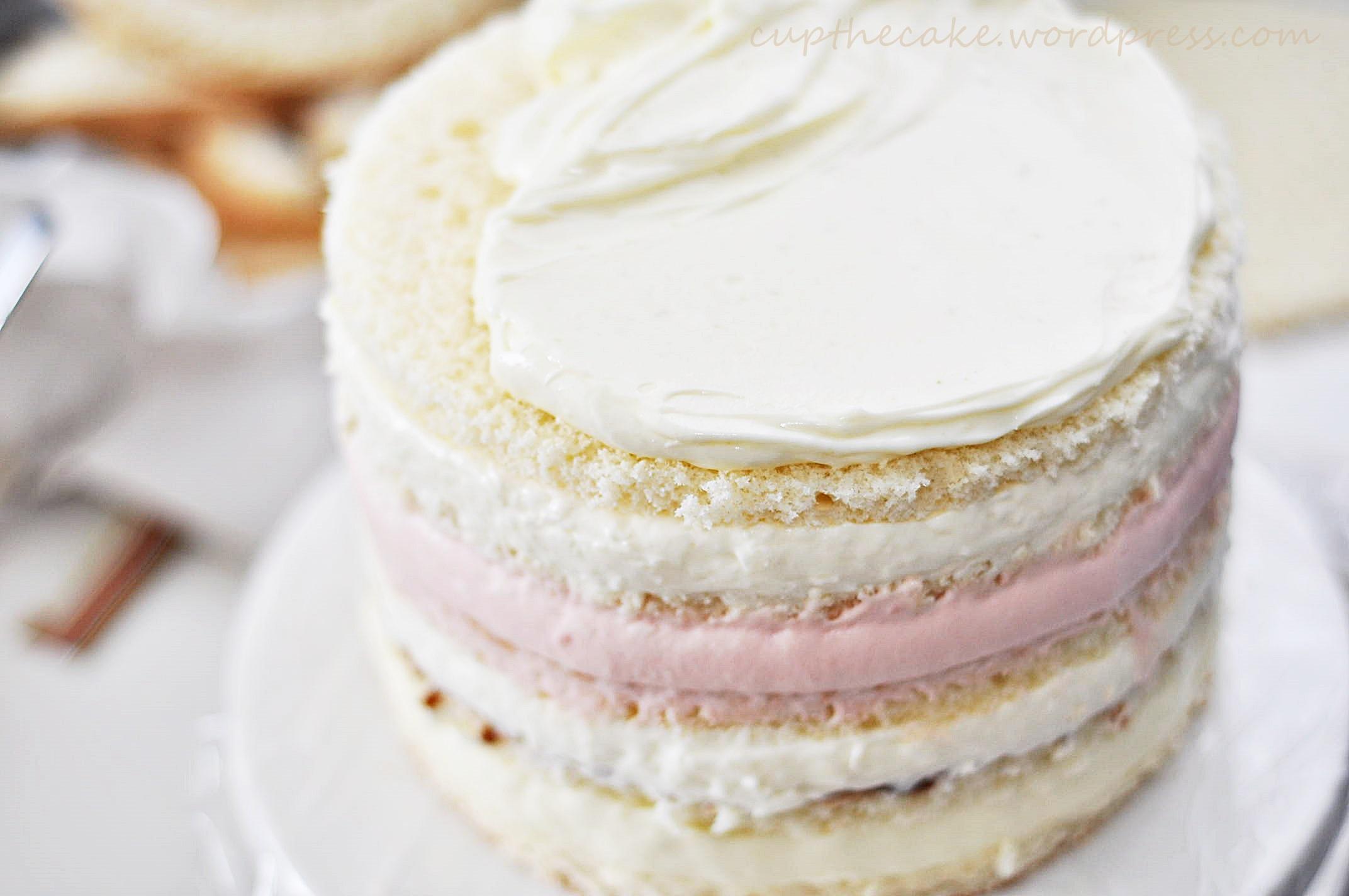 baka hög tårta