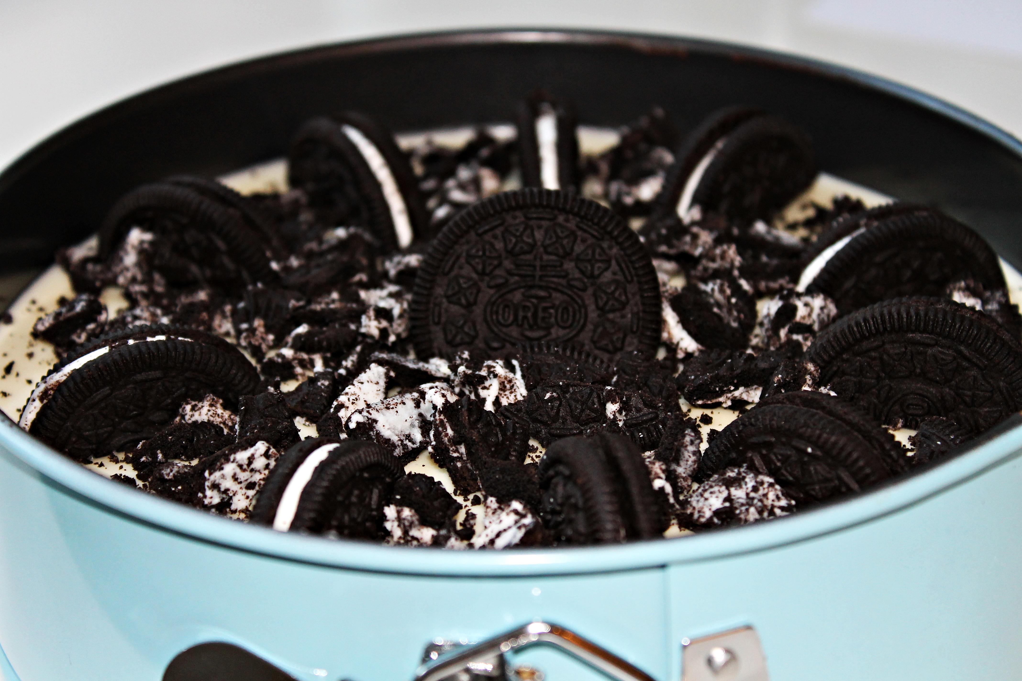 oreo tårta med chokladmousse